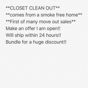 Other - **PURGE SALE**